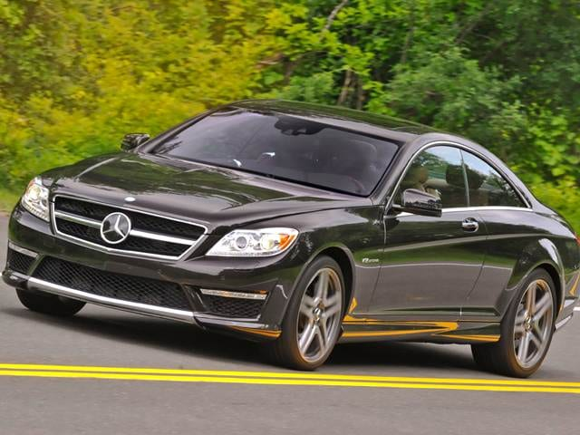 Highest Horsepower Coupes of 2012 - 2012 Mercedes-Benz CL-Class