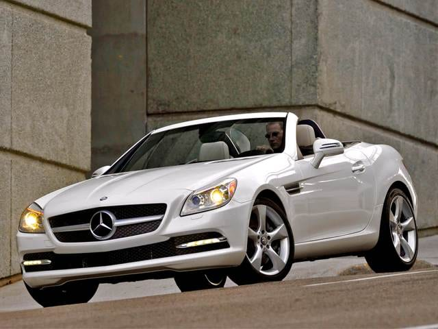 Most Fuel Efficient Luxury Vehicles of 2012 - 2012 Mercedes-Benz SLK-Class