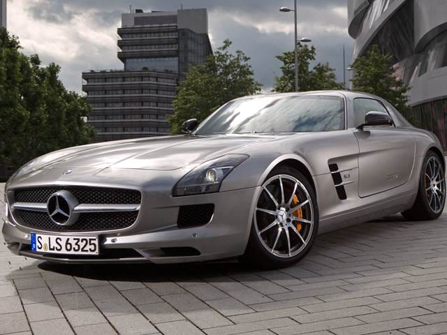 Top Consumer Rated Luxury Vehicles of 2012 - 2012 Mercedes-Benz SLS-Class