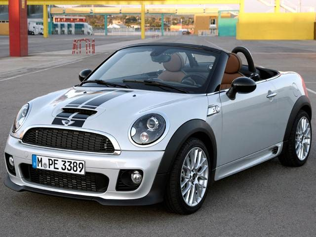 Most Fuel Efficient Convertibles of 2012 - 2012 MINI Roadster
