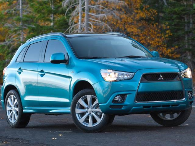 Best Safety Rated SUVs of 2012 - 2012 Mitsubishi Outlander Sport