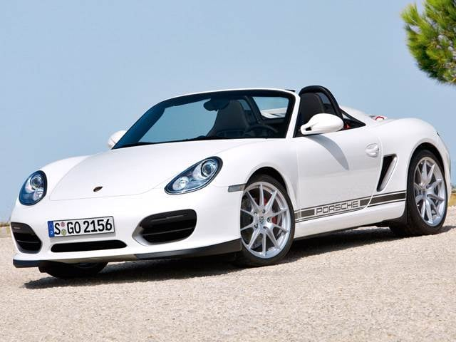 Top Consumer Rated Convertibles of 2012 - 2012 Porsche Boxster