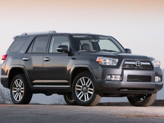 Best Safety Rated SUVs of 2012 - 2012 Toyota 4Runner