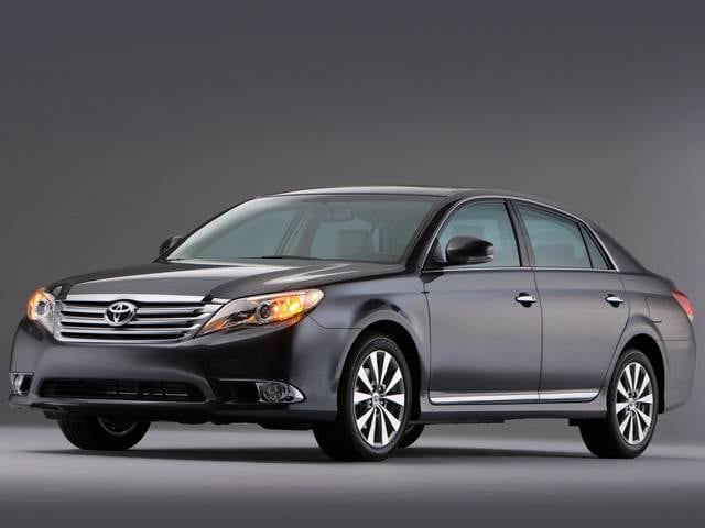 Most Popular Sedans of 2012 - 2012 Toyota Avalon