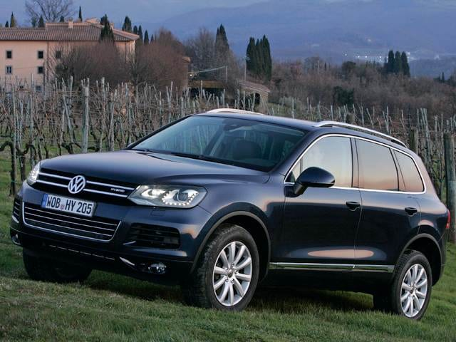 Highest Horsepower Hybrids of 2012 - 2012 Volkswagen Touareg