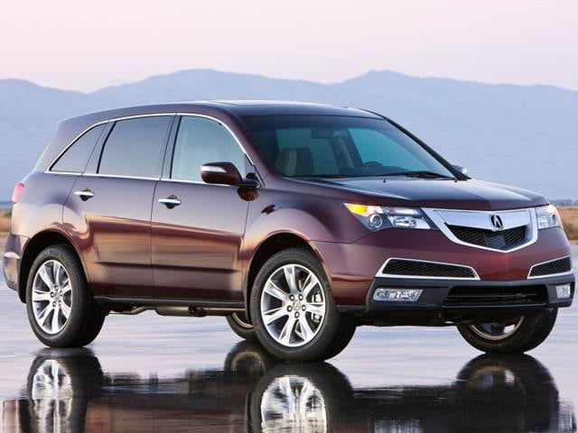 Most Popular Luxury Vehicles of 2013 - 2013 Acura MDX