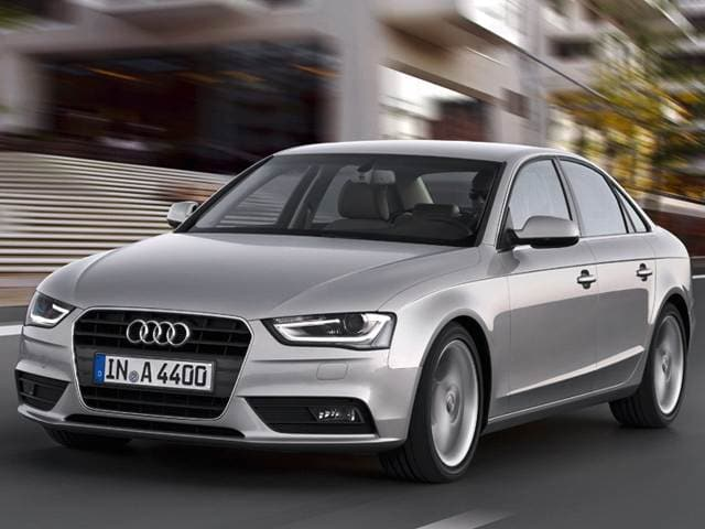 Best Safety Rated Sedans of 2013 - 2013 Audi A4