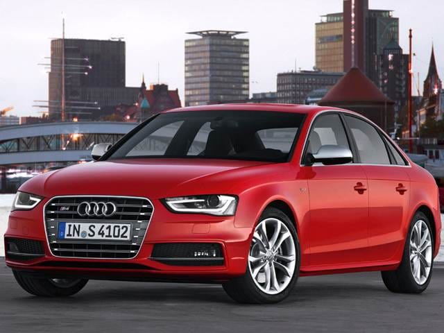 Best Safety Rated Sedans of 2013 - 2013 Audi S4