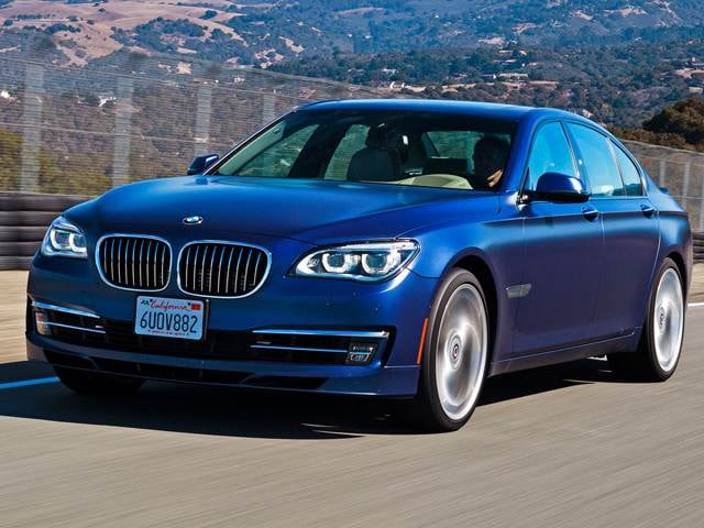 Highest Horsepower Sedans of 2013 - 2013 BMW 7 Series