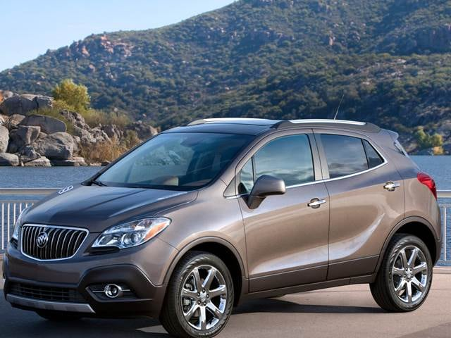 Most Fuel Efficient Crossovers of 2013 - 2013 Buick Encore