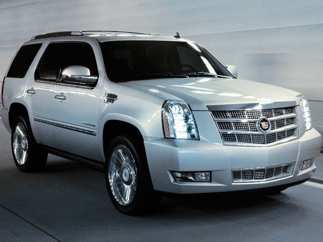 Highest Horsepower SUVs of 2013 - 2013 Cadillac Escalade