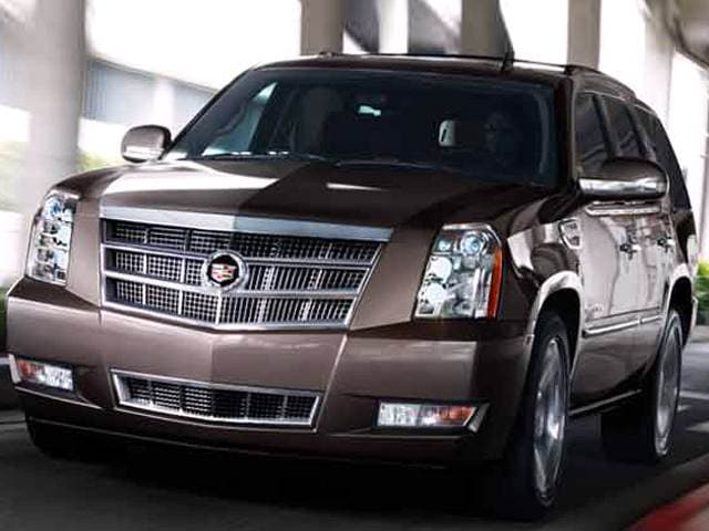 Highest Horsepower Hybrids of 2013 - 2013 Cadillac Escalade