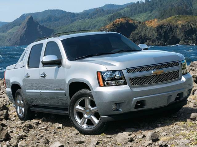 Top Consumer Rated SUVs of 2013 - 2013 Chevrolet Avalanche
