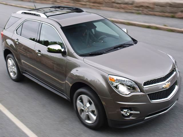 Most Fuel Efficient SUVs of 2013 - 2013 Chevrolet Equinox