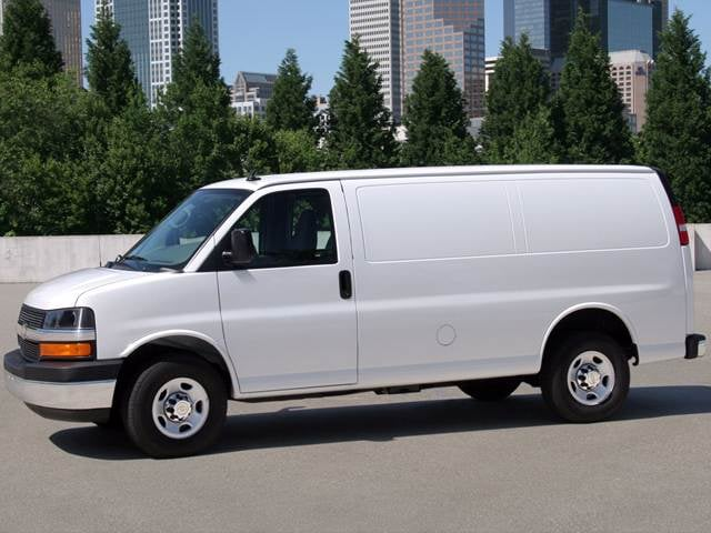 Most Popular Vans/Minivans of 2013 - 2013 Chevrolet Express 2500 Cargo