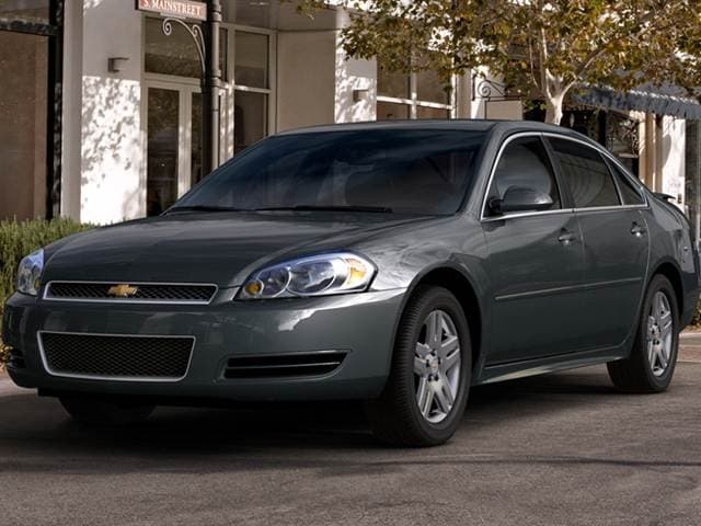 Most Popular Sedans of 2013 - 2013 Chevrolet Impala