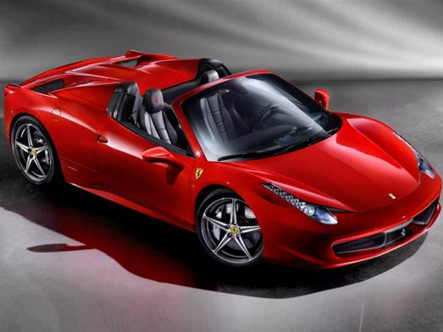 Top Consumer Rated Convertibles of 2013 - 2013 Ferrari 458 Spider