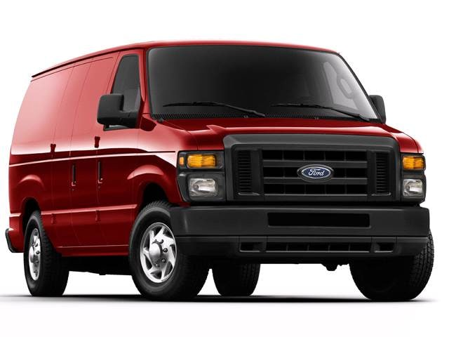 Most Popular Vans/Minivans of 2013 - 2013 Ford E250 Cargo