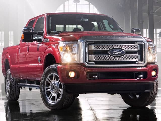 Top Expert Rated Trucks of 2013 - 2013 Ford F350 Super Duty Crew Cab