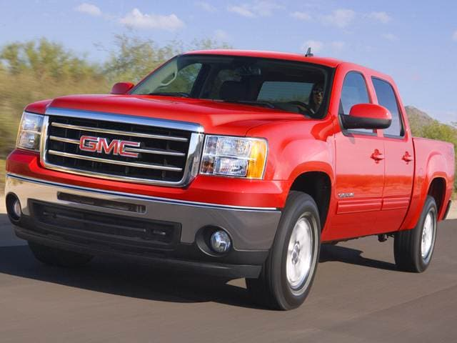 Best Safety Rated Trucks of 2013 - 2013 GMC Sierra 1500 Crew Cab
