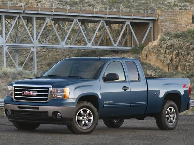 Best Safety Rated Trucks of 2013 - 2013 GMC Sierra 1500 Extended Cab