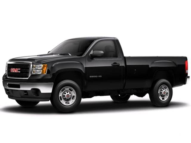Top Consumer Rated Trucks of 2013 - 2013 GMC Sierra 2500 HD Regular Cab