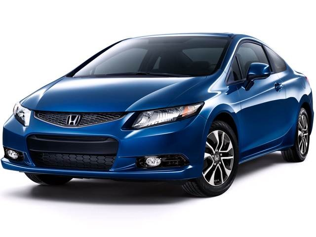Most Popular Coupes of 2013 - 2013 Honda Civic