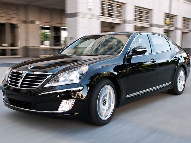 Top Consumer Rated Sedans of 2013 - 2013 Hyundai Equus