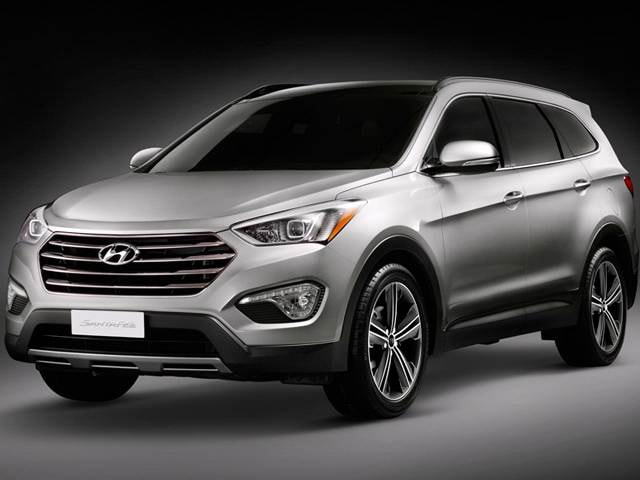 Top Consumer Rated SUVs of 2013 - 2013 Hyundai Santa Fe