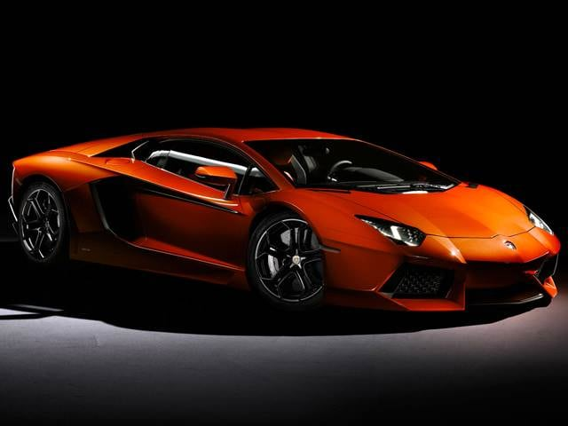 Highest Horsepower Luxury Vehicles of 2013 - 2013 Lamborghini Aventador