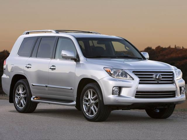 Top Consumer Rated SUVs of 2013 - 2013 Lexus LX