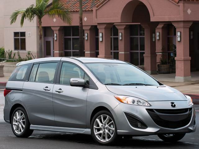 Most Fuel Efficient Vans/Minivans of 2013 - 2013 Mazda MAZDA5