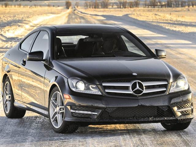 Used 2013 mercedes benz c class c 350 4matic coupe 2d - Mercedes c class coupe 4matic ...