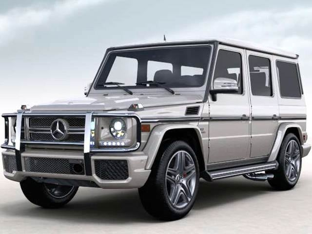Highest Horsepower SUVs of 2013 - 2013 Mercedes-Benz G-Class