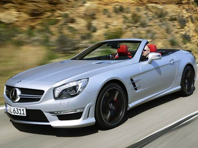 Highest Horsepower Coupes of 2013 - 2013 Mercedes-Benz SL-Class