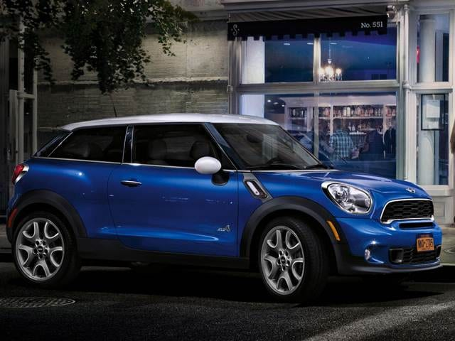 Top Consumer Rated Crossovers of 2013 - 2013 MINI Paceman