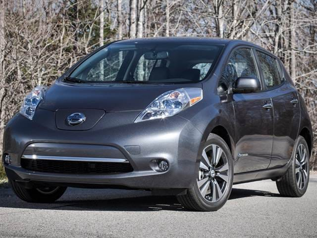 Most Popular Electric Cars of 2013 - 2013 Nissan LEAF