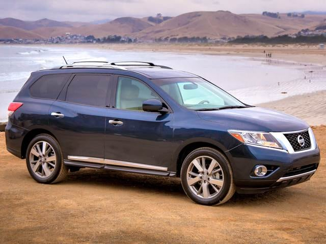 Top Expert Rated SUVs of 2013 - 2013 Nissan Pathfinder