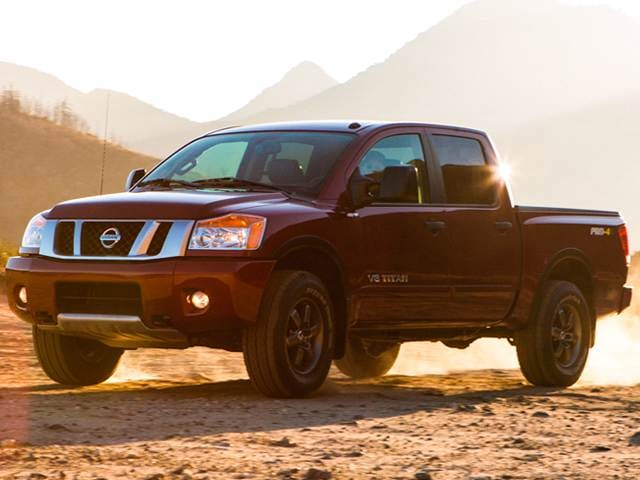 Most Popular Trucks of 2013 - 2013 Nissan Titan Crew Cab