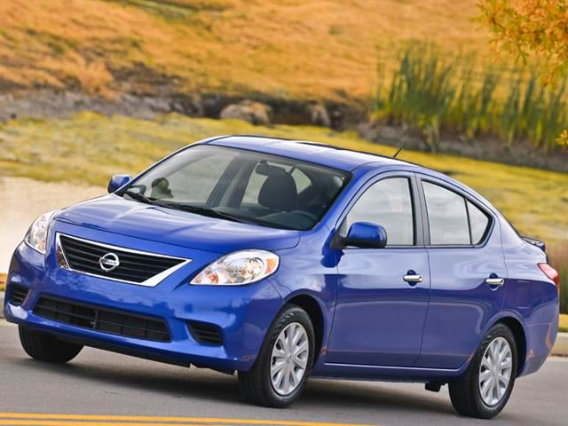 2013 Nissan Versa Sl Sedan 4d Used Car Prices Kelley