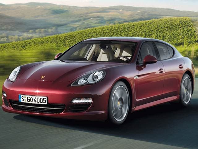 Top Consumer Rated Luxury Vehicles of 2013 - 2013 Porsche Panamera