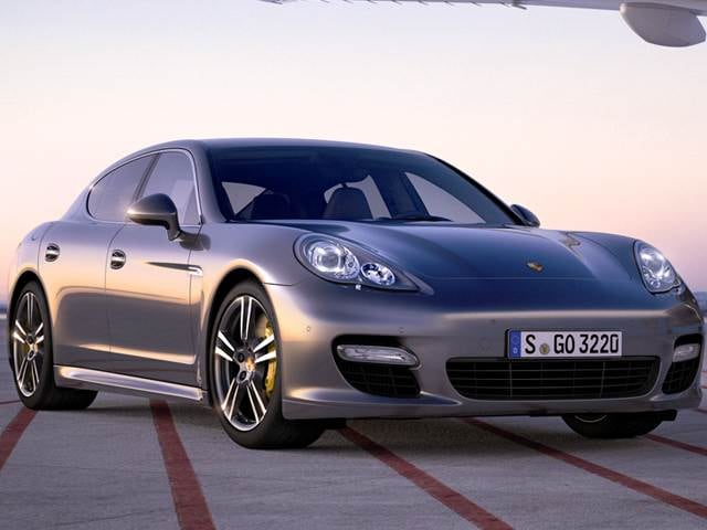 Highest Horsepower Sedans of 2013 - 2013 Porsche Panamera