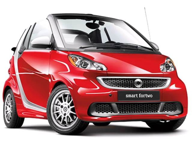 Most Fuel Efficient Convertibles of 2013 - 2013 smart fortwo