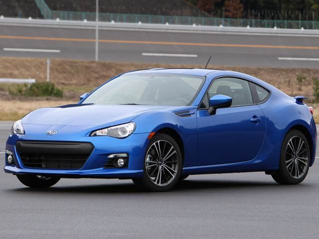 Top Consumer Rated Coupes of 2013 - 2013 Subaru BRZ