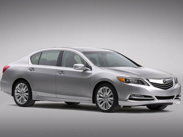 Top Consumer Rated Sedans of 2014 - 2014 Acura RLX