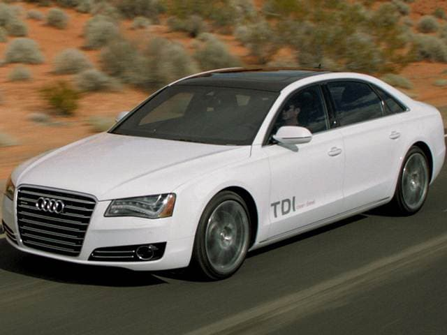 Top Expert Rated Sedans of 2014 - 2014 Audi A8