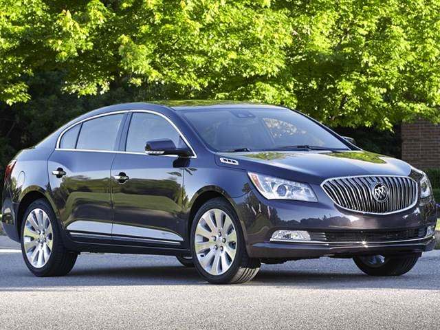 Most Popular Luxury Vehicles of 2014 - 2014 Buick LaCrosse