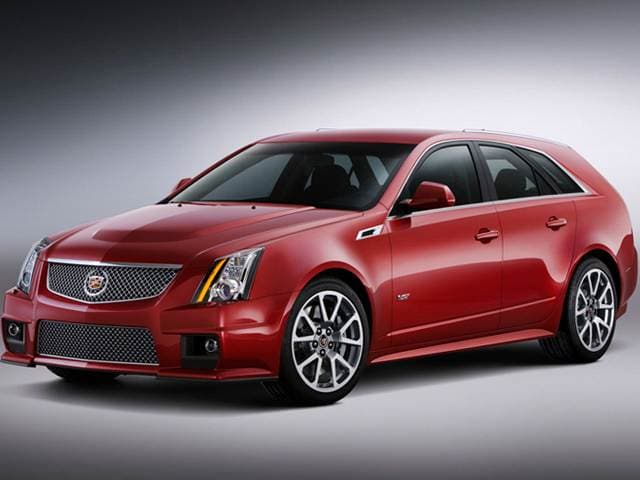 Top Consumer Rated Wagons of 2014 - 2014 Cadillac CTS
