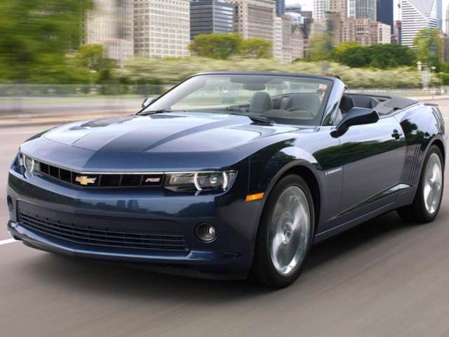 Highest Horsepower Convertibles of 2014 - 2014 Chevrolet Camaro
