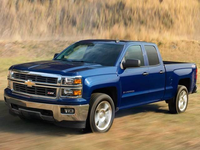 Blue Book Value For Trucks >> 2014 Chevrolet Silverado 1500 Double Cab Z71 LT Pickup 4D 6 1/2 ft Used Car Prices | Kelley Blue ...
